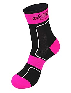 cheap Cycling Socks-Bike / Cycling Socks Unisex Camping / Hiking / Leisure Sports / Badminton Thermal / Warm / Wearable / Breathable 1 Pair Spring / Summer /