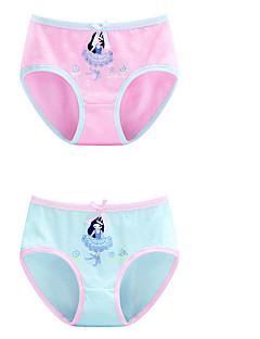 billige Undertøj og sokker til piger-Pige Undertøj Ensfarvet, Bomuld Alle årstider Mikroelastisk Blå Lyserød