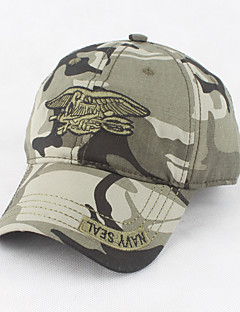 preiswerte -Herrn Büro, Baumwolle Militär Mützen Sonnenhut Baseball Kappe - Stilvoll Solide Tarnfarben