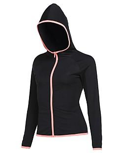 billige Løbetøj-Alle Løbe-T-shirt Sweatshirt - Sport Løb Langærmet Hurtigtørrende Lys pink, Grå, Marineblå Ensfarvet