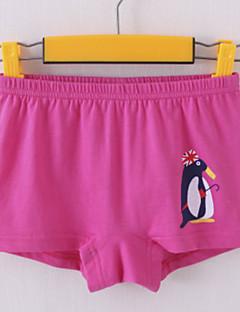 tanie Odzież dla dziewczynek-Bielizna Bawełna Dla dziewczynek Jendolity kolor Wzór zwierzęcy Na każdy sezon Średnio elastyczny/a Black Czerwony Blushing Pink Light