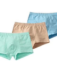billige Undertøj og sokker til drenge-Drenge Undertøj Ensfarvet, Bomuld Alle årstider Blå