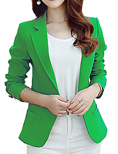 cheap Women's Blazers & Jackets-Women's Work Blazer - Solid Color, Print