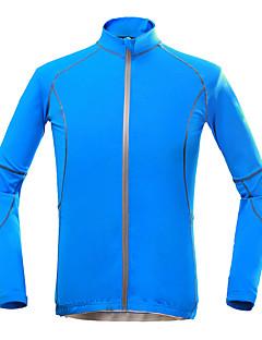 billige Sykkeljakker-KORAMAN Sykkeljakke Herre Sykkel Topper Vår Sommer Polyester Sykkelklær Fort Tørring Ultraviolet Motstandsdyktig Pustende Elastisk