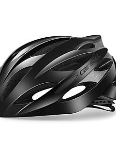 billiga Cykling-CAIRBULL Vuxen cykelhjälm 25 Ventiler CE Certifiering Stöttålig, Justerbar passform ESP+PC Cykling / Cykel - Grå+Vit / Svart / vit / Svart / röd