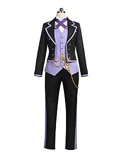 """billige Anime Kostymer-Inspirert av Cardcaptor Sakura Sakura Anime  """"Cosplay-kostymer"""" Cosplay Klær / Cosplay Topper / Underdele Annen Langermet Frakk / Vest / Trøye Til Herre / Dame Halloween-kostymer"""