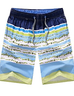 billige Herrebukser og -shorts-Herre Gatemote Shorts Bukser Fargeblokk