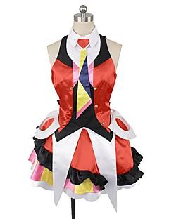 """billige Anime cosplay-Inspirert av Programmene Frontier Cosplay Anime  """"Cosplay-kostymer"""" Cosplay Klær Annen Ermeløs Topp Skjørte Mer Tilbehør Hodeplagg Slips"""