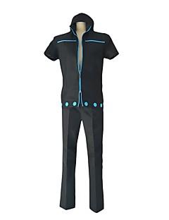 baratos Fantasias Anime-Inspirado por One Piece Roronoa Zoro / Fantasias Anime Fantasias de Cosplay Ternos de Cosplay Outro Manga Curta Blusa / Calças / Luvas Para Homens / Mulheres Trajes da Noite das Bruxas