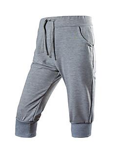 billige Herrebukser og -shorts-Herre Aktiv Shorts Bukser Ensfarget