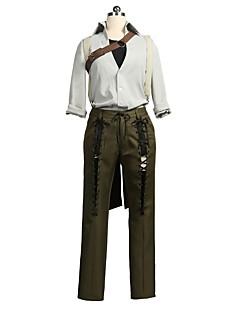 """billige Anime cosplay-Inspirert av Violet Evergarden Andre Anime  """"Cosplay-kostymer"""" Cosplay Klær Cosplay Topper / Underdele Annen 3/4 ermer Trøye Bukser"""