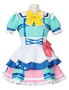 """billige Anime Kostymer-Inspirert av Elsker live Anime  """"Cosplay-kostymer"""" Cosplay Klær Annen Kortermet Halsklut / Kjole / Sokker Til Herre / Dame"""
