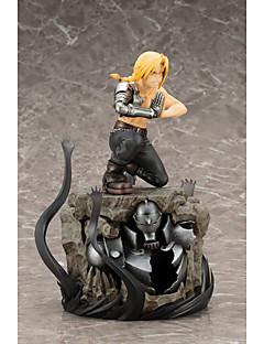 billige Anime cosplay-Anime Action Figurer Inspirert av Helmetall Alkemist Cosplay PVC CM Modell Leker Dukke Herre Dame