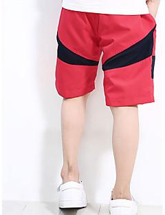 billige Drengebukser-Drenge Shorts Ensfarvet Forår Rød