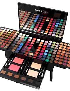 cheap -MISS ROSE 180 Colors Eyeshadow Palette / Eyeshadow Kit / Powders Blush / Highlighter / Bronzer Fashion Long Lasting Daily Makeup Makeup Cosmetic