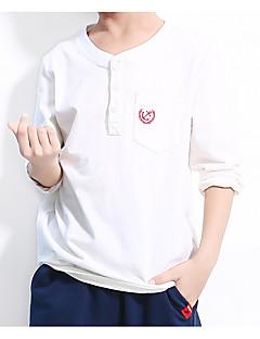 billige Overdele til drenge-Børn Baby Drenge Stribet Langærmet T-shirt