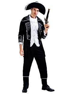 billige Halloweenkostymer-Pirates of the Caribbean Drakter Herre Dame Halloween Karneval De dødes dag Første april Maskerade Valentinsdag Bursdag Nytt År Barnas Dag