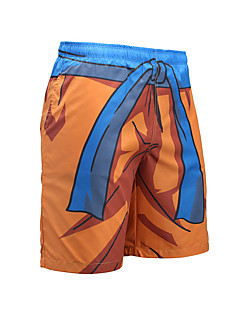 billige Herrebukser og -shorts-Herre Sporty Aktiv Shorts Chinos Bukser Stripet Fargeblokk
