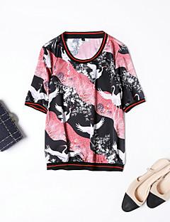 hesapli MMLJ-Kadın's Tişört Desen,Hayvan Sokak Şıklığı