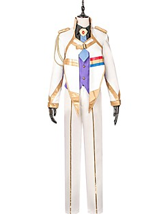 baratos Fantasias Anime-Inspirado por Macross Frontier Fantasias Anime Fantasias de Cosplay Ternos de Cosplay Outro Manga Longa Casaco / Colete / Camisa Para Homens / Mulheres
