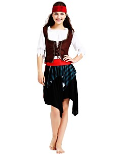 levne -Pirates of the Caribbean Úbory Pánské Dámské Halloween Karneval Den smrti Dubnový bláznivý den Plesová maškaráda Valentýna Narozeniny