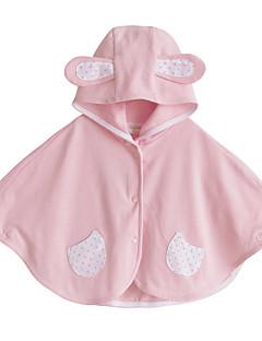 billige Babytøj-Baby Unisex En del Daglig Ensfarvet, Bomuld Forår Efterår Langærmet Simple Grøn Lyserød Gul