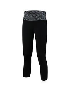 billige Løbetøj-Dame Løbeshorts - Rød, Grøn, Blå Sport Ensfarvet 3/4 Tights / Leggins Træning & Fitness Sportstøj Åndbarhed Elastisk