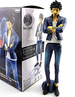 billige Anime cosplay-Anime Action Figurer Inspirert av One Piece Trafalgar Law PVC 22 cm CM Modell Leker Dukke