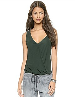 cheap Women's Tanks-Women's Active Tank Top-Solid Colored,Backless