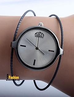 ieftine Ceasuri de Cupluri-Pentru femei Pentru cupluri Quartz Ceas La Modă Ceas Casual Chineză Ceas Casual Aliaj Bandă Casual Modă Argint
