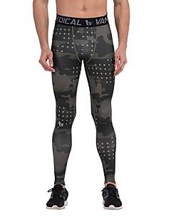 billiga Träning-, jogging- och yogakläder-Dam Tights för jogging - Svart / Blå, Kamoflage sporter Cykling Tights / Leggings Yoga, Fitness, Gym Sportkläder