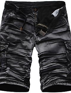 billige Herrebukser og -shorts-Herre Grunnleggende Shorts Bukser Kamuflasje