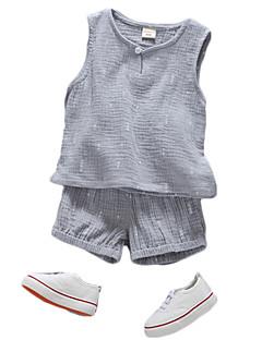 billige Tøjsæt til piger-Unisex Prikker Uden ærmer Tøjsæt