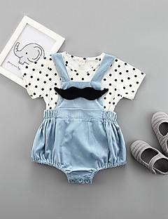 billige Tøjsæt til drenge-Drenge Prikker Kortærmet Tøjsæt