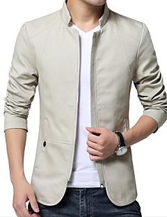 abordables Vestes & Manteaux pour Homme-Veste Homme - Couleur Pleine Basique