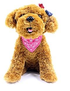 billiga Hundkläder-Husdjur Ornament Knyta / Fluga Hundkläder Enfärgad Reaktiv Tryck Brittisk Röd Blå Rosa Svart PU läder Terylen Kostym För husdjur
