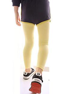 tanie Odzież dla dziewczynek-Zwierzę Dziewczyny Codzienny Bawełna Wiosna Lato Jesień Sukienka Wzór zwierzęcy White Navy Blue Gray Yellow Różowy