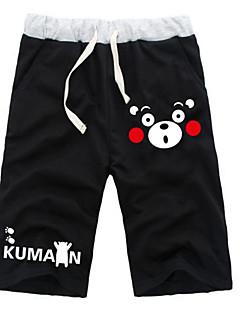 """billige Anime cosplay-Inspirert av Kumamon Hatsune Miku Monokuma Anime  """"Cosplay-kostymer"""" Cosplay Topper / Underdele Ensfarget Animé ½ Pant Shorts Til Alle"""