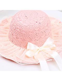 tanie Akcesoria dla dzieci-czapki dziewczęce&czapki, wiosna jesień poliester khaki beżowy rumieniec różowy biały zielony