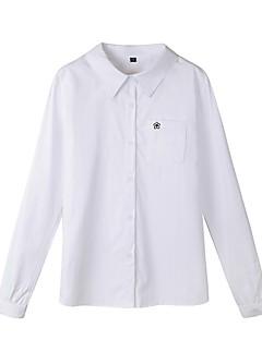 billige Skjorte-Dame-Blomstret Broderi Basale Skjorte