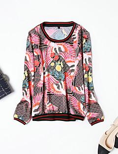 hesapli MMLJ-Kadın's Tişört Desen,Hayvan Actif Sokak Şıklığı