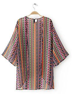 billige Bluse-Dame - Regnbue Basale Bluse