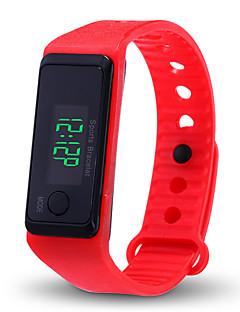 billige Digitalure-Herre Dame Digital Digital Watch Kinesisk Kronograf tachymeter Afslappet Ur LCD Silikone Bånd Elegant Mode Sort Hvid Blåt Rød Grøn Gråt