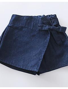 preiswerte Röcke für Mädchen-Kinder / Baby Mädchen Solide Rock