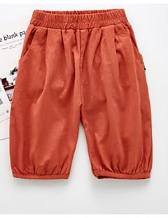 billige Bukser og leggings til piger-Børn / Baby Unisex Ensfarvet Bukser