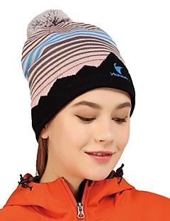 billige Clothing Accessories-VEPEAL Turcaps Hatt Vindtett Hold Varm Stretch Vinter Blå Unisex Fisking Vandring Reise Stribe Mote Voksne / Elastisk