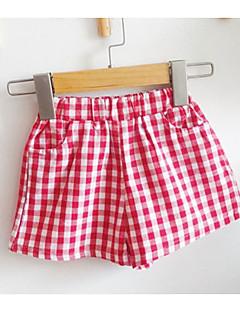 billige Bukser og leggings til piger-Børn / Baby Unisex Ternet Shorts