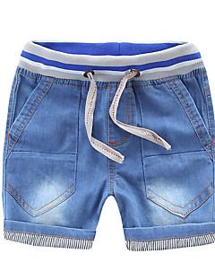 billige Drengebukser-Børn Drenge Ensfarvet Shorts