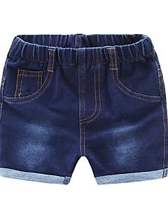 billige Bukser og leggings til piger-Børn Pige Ensfarvet Shorts