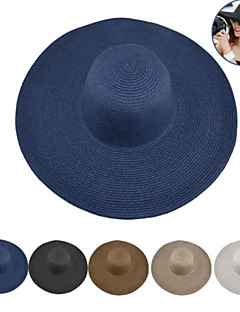 cheap Outdoor Clothing-Hat Summer Quick Dry / Sun Shades / Breathability Hiking / Outdoor Exercise / Traveling Women's Straw